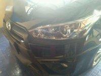 Toyota Yaris trd mt 2014 hitam, plat bk medan. harga nego