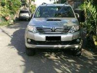 Dijual Toyota Fortuner Pribadi G / AT VNT Turbo 2012