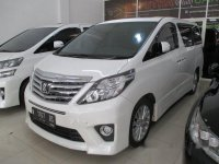 Jual Toyota Alphard G S C Package AT 2014