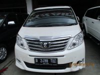 Jual Toyota Alphard G 2.5 AT 2012