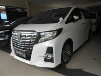 Jual Toyota Alphard G S C Package AT 2017