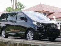 Toyota Alphard SC Premium Sound 2012 Black - Tipe Tertinggi
