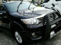 Toyota Fortuner TRD solar manual 2012