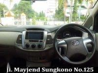 Toyota Innova G Airbag 2013