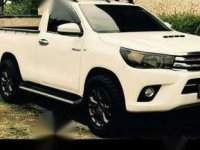 Toyota Hilux 4X4 single cabin 2016