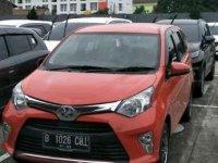 Toyota Calya 1.2 G merah cabe, free immobilizer 2017