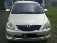 Toyota Innova G 2.0 manual 2008