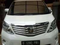 Jual Toyota Alphard G S C Package AT 2012