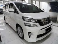 TOYOTA VELLFIRE Z 2.4 AT 2012