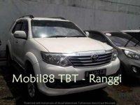 Toyota Fortuner G Luxury 2012 Putih