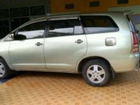 Toyota Innova G 2006 manual