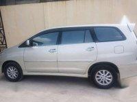 Toyota Innova Matic Silver Tahun 2013 V 2.0