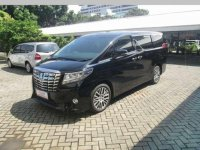 Toyota Alphard G 2.5 AT 2015 Hitam