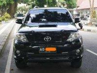 Toyota Fortuner G TRD VNTurbo 2014 - Hitam Mulus Manual Turbo Diesel