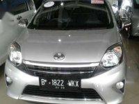 Toyota Agya G MT 2015 Silver Kondisi Tidak Menipu