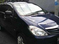 Toyota Kijang Innova E MT Tahun 2010 Manual