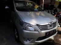 Toyota Innova Diesel type G manual 2012