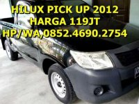 Toyota Hilux Pickup MT Tahun 2012 Manual