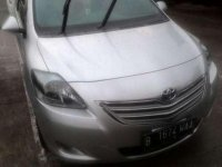 Toyota Vios G 2012 A.T Silver Metalik Siap Jalan