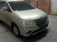 Toyota Kijang Innova G gasoline 2014
