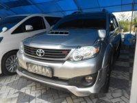 Jual Toyota Fortuner TRD AT 2015