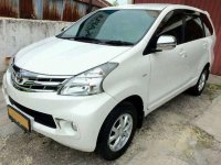 2012 Toyota Avanza G Manual