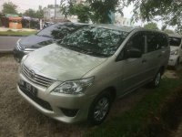 2012 Toyota Kijang Innova E Manual
