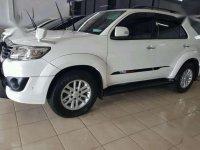 Toyota Fortuner TRD-VNT 2014 pmk putih