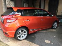 Toyota Yaris 2014 Orange