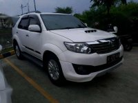 Toyota Fortuner Vnt TRD 2.5 2013