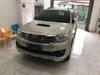 Toyota Fortuner TRD VNT turbo 2013 Manual