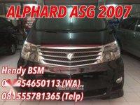 Toyota Alphard ASG 2007