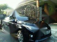 Toyota Yaris 2016 Matic black