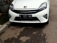 Toyota Agya manual tahun 2016 km 14rb