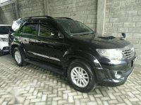 Toyota Fortuner manual 2012