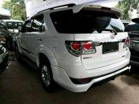 Toyota Fortuner 2.5G putih 2013 matic
