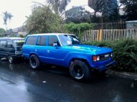 Toyota Land Cruiser 4.0 Manual 1984 Biru