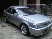 Toyota Soluna 2002 Silver metallc