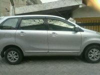 All New Toyota Avanza 1.3G 2013 Airbag Manual Silver