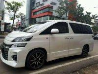 Jual Toyota Vellfire ZG 2014