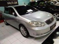 Toyota Corolla Altis G MT Tahun 2004 Manual