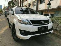 Jual Toyota Fortuner A/T 2015 TRD Bensin 2015