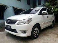 Toyota Kijang Innova E MT Tahun 2012 Manual