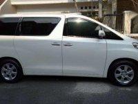 Toyota Alphard Tahun 2012 Type X