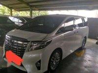 Dijual Mobil Toyota Alphard G Wagon Tahun 2017