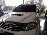 Jual Toyota Fortuner V Diesel 2012  AT