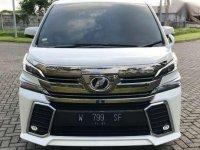 Toyota Alphard Tahun 2015 Type G S C Package