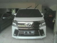 Toyota Vellfire ZG AT Tahun 2016 Automatic