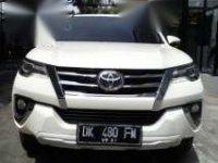 Jual Toyota Fortuner SRZ 2016