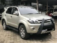 Toyota Fortuner G 2008 Manual